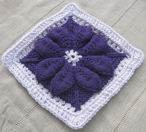 JoJo Dahlia: Free #Knit Afghan Square roundup on Moogly!