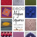 Nifty Knit Afghan Squares: 10 Free Patterns