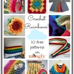 Crochet a Rainbow with 10 Free Moogly Patterns!