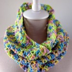 Splash of Spring Crochet Cowl