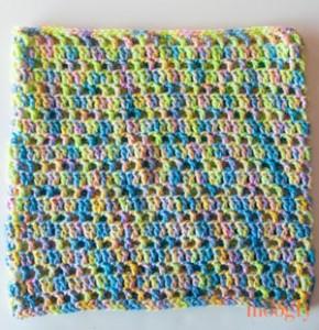 Splash of Spring Cowl: free one skein #crochet pattern! ♥