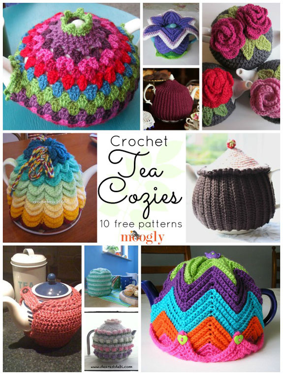 Care For A Cuppa Crochet 10 Free Tea Cozy Patterns