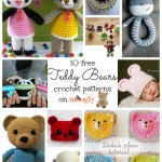Cute and Cuddly Free Crochet Teddy Bear Patterns