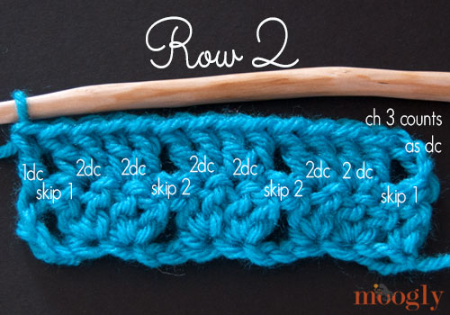 Learn to Crochet the Twin V Stitch! Perfect for baby blankets, afghans, scarves, and more! Photo and video tutorial makes it perfect for beginners! #crochet