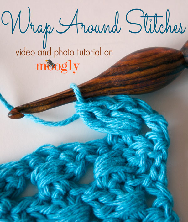 Crochet Stitches Video Tutorials : How to Crochet Wrap Around Stitches Video Tutorial
