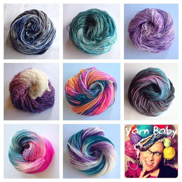Win a custom dyed skein of Yarn Baby LLC yarn! ♥ Giveaway on Moogly ends 3/4/14 at 12am, open worldwide!
