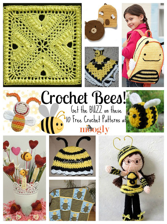 Queen Bee Free Amigurumi Crochet Pattern ⋆ Crochet Kingdom | 768x575