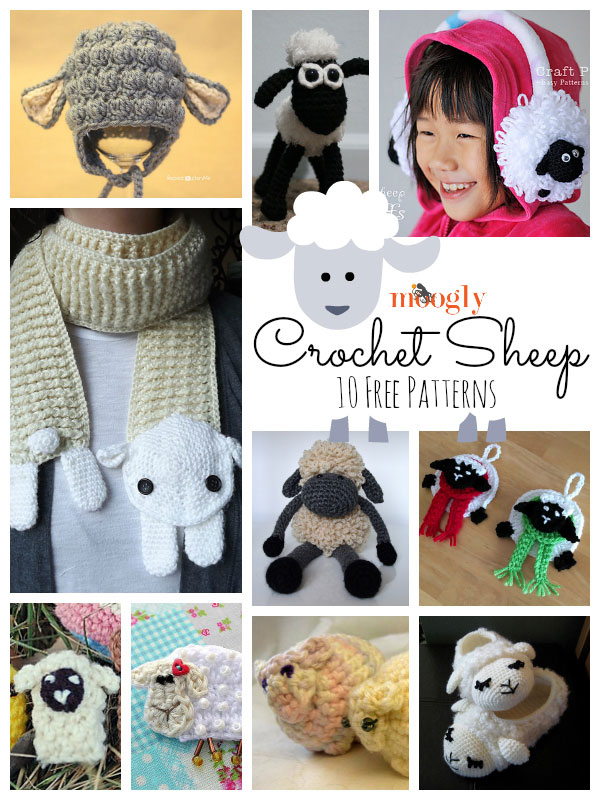 Crochet Bobble Sheep Lots Of Gorgeous Free Patterns | 800x600