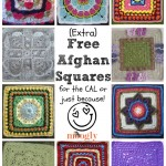 Extra Patterns for the Crochet-a-Long: 10 Free Afghan Squares!