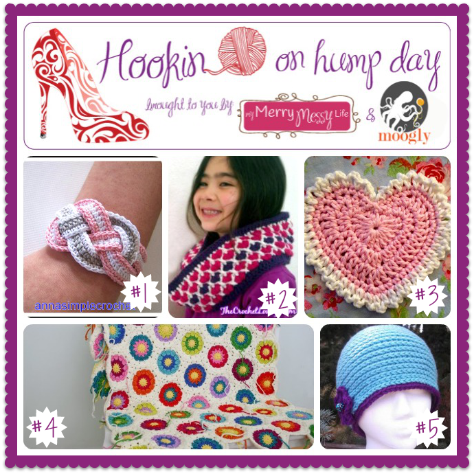 Hookin On Hump Day is the best link party for the fiber arts! Check out the featured projects and add your own crochet, knit, and sewing links!