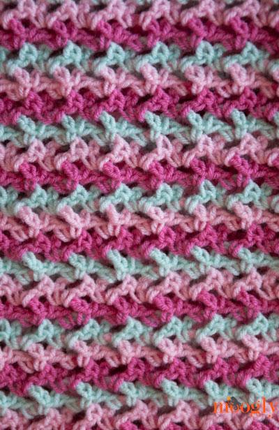 Loopy Love Blanket Free Crochet Pattern In 7 Sizes