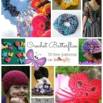 Beautiful Butterflies: 10 Free Butterfly Crochet Patterns!