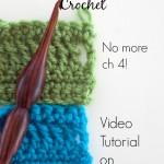 Chainless Starting Treble Crochet