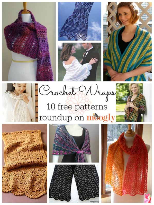 Ravishing Rectangles: 10 Free Wrap Crochet Patterns! - moogly