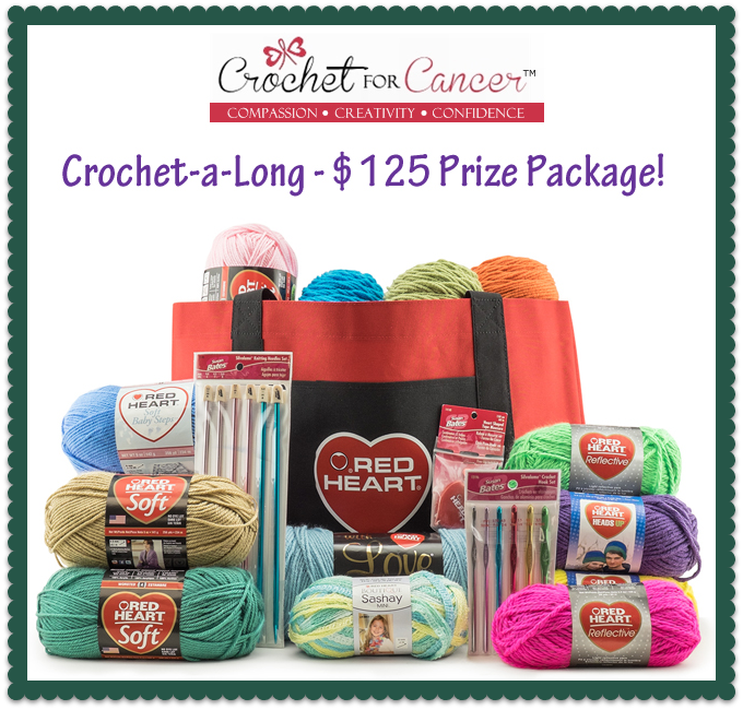 Join the Crochet for Cancer Crochet-a-Long: Make hats, do good, and maybe win a prize! :D