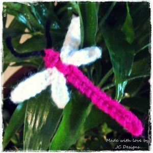 Delightful Dragonflies: 10 Free Crochet Dragonfly Patterns ... | 300x300