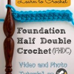 Foundation Half Double Crochet (FHDC)