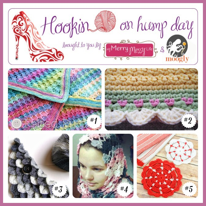 Hookin On Hump Day #68: The best fiber arts projects around! :D