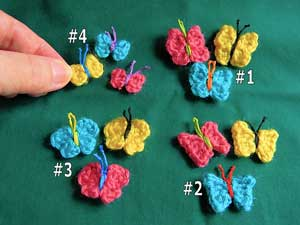 Butterfly #Crochet Patterns - free pattern roundup from Mooglyblog.com