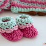 Loopy Love Newborn Baby Booties