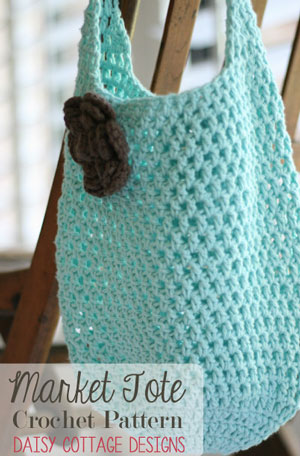 To Market To Market To Crochet Free Market Tote Bag Patterns