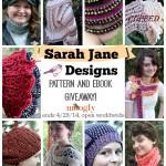 Sarah Jane Designs Pattern Giveaway on Moogly!