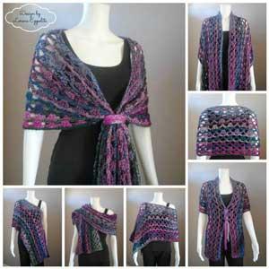 Ravishing Rectangles 10 Free Wrap Crochet Patterns Moogly