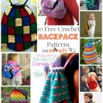 Back Up for Free Crochet Backpack Patterns!