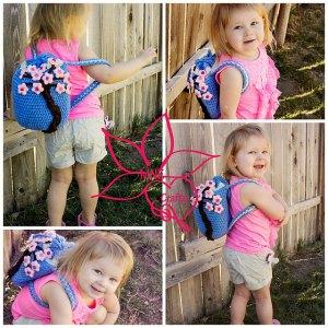 Love these #Crochet Backpacks - free patterns! From Mooglyblog.com