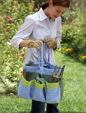 Crochet for Gardeners! 10 free #crochet patterns in a special collection from Moogly!