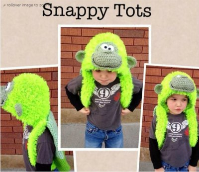 Gorilla Backpack from SnappyTots - love this!
