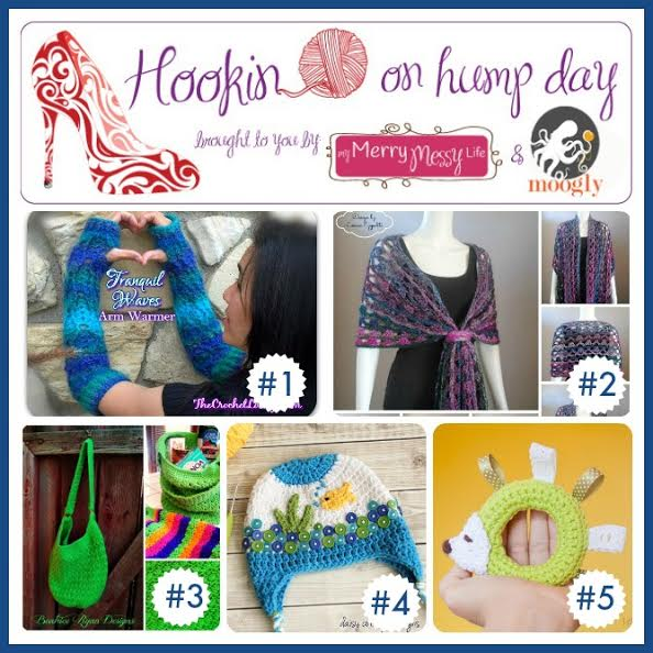 Hookin On Hump Day #70! Check out these amazing projects from blogs all over the web! #linkparty #crochet #knit #sew