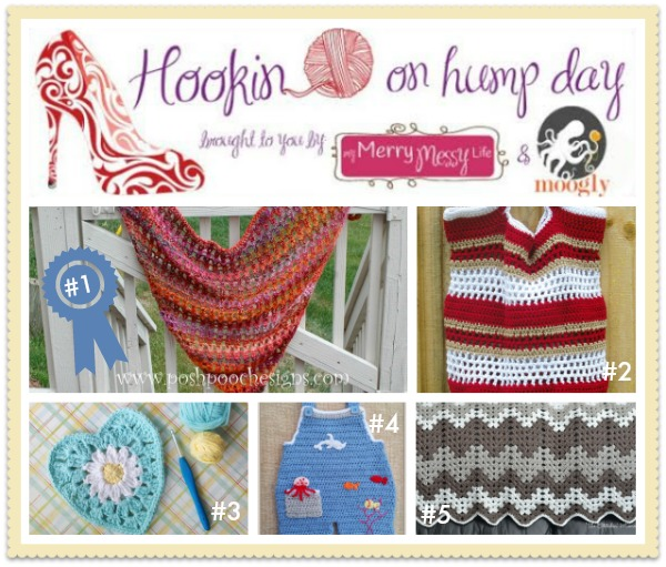 HOHD #71 - The best link party for the fiber arts! This week we've got 5 Free #Crochet patterns to share!