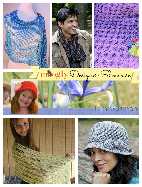Learn all about the incomparable Kim Guzman in the Moogly Designer Showcase, and check out 5 free #crochet patterns from this amazing designer!