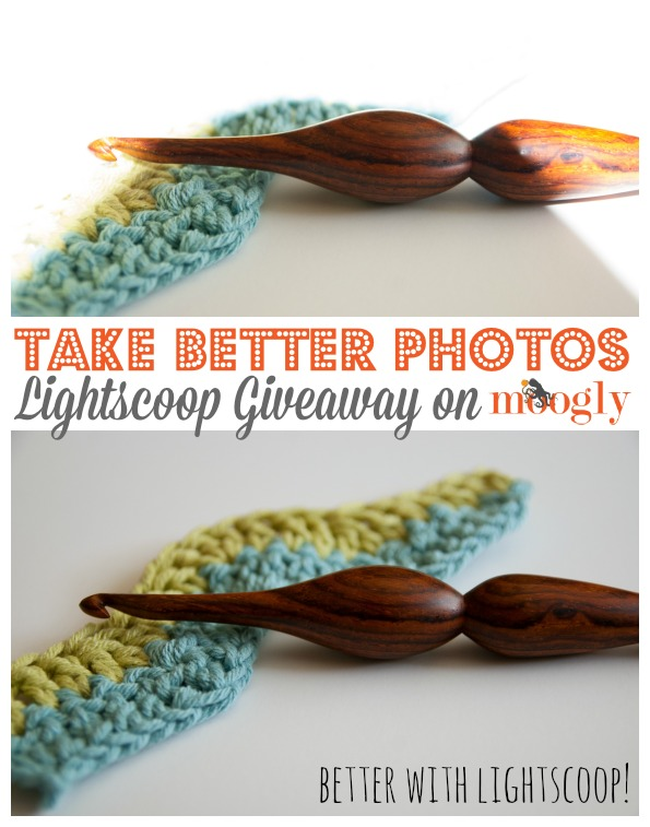 Win a Lightscoop and take better photos! Review and Giveaway on Moogly! Giveaway ends 5/13/14, but the discount code lasts through the 20th!