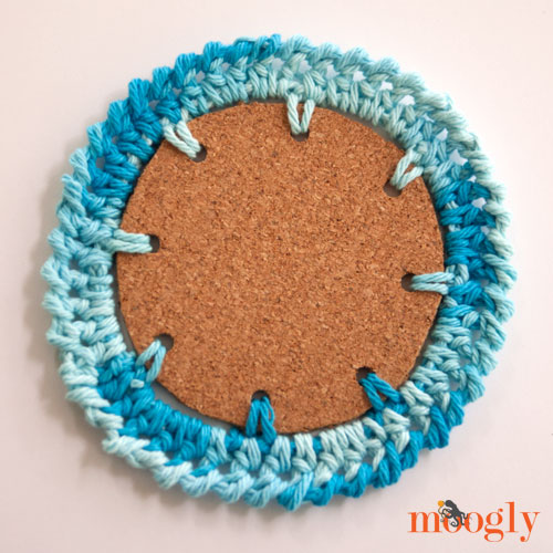 Nautical Crochet Coasters! Four free #crochet patterns on Mooglyblog.com!