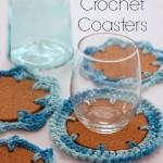 Nautical Crochet Coasters