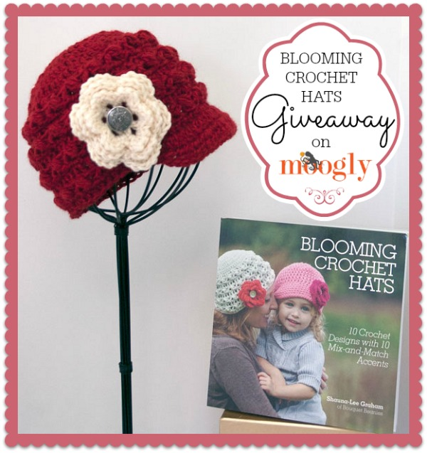 Blooming Crochet Hats - Review and Giveaway on Mooglyblog.com!