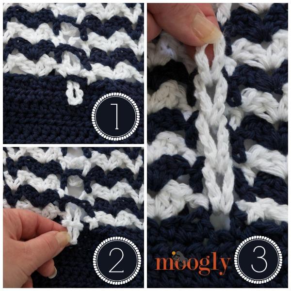 Braiding Crochet Loops Moogly