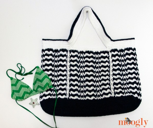 Day At The Beach Bag Free Crochet Pattern A With