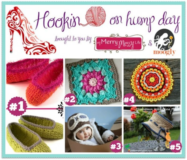Hookin On Hump Day #73 - full of FREE #crochet patterns this round!