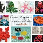 Something Smells Fishy… It's 10 Free Ocean Applique Crochet Patterns!
