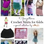 10 Sweet Crochet Skirt Patterns for Girls!