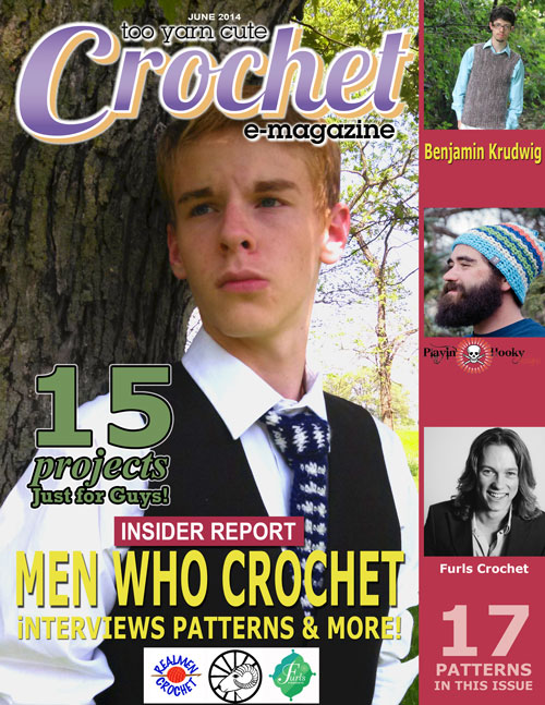 Win a copy of Too Yarn Cute Just for Guys Edition emagazine! Giveaway on Moogly ends 6/9/14 at 11:45 pm central