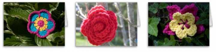Crochet in Nature - blank cards for special gifts!