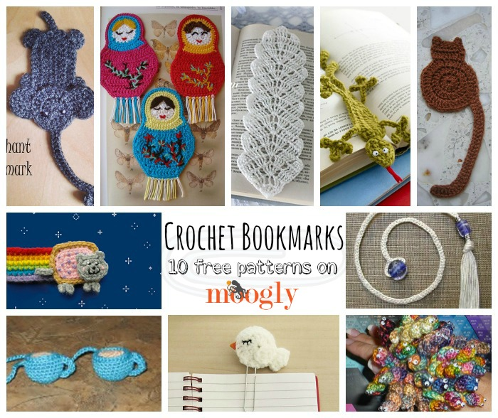 Hook for Your Books with 10 Free #Crochet Bookmark Patterns!