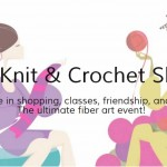 Knit and Crochet Show Here I Come! How About You?