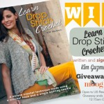 Learn Drop Stitch Crochet, by Kim Guzman: a Giveaway!