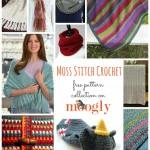 Marvelous Moss: 10 Free Crochet Moss Stitch Patterns