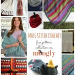 Marvelous Moss: 10 Free Crochet Moss Stitch Patterns